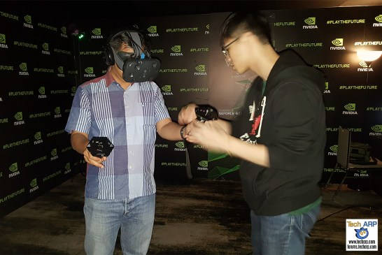 HTC Vive Test Drive
