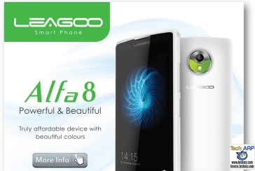 LEAGOO Alfa 8 Smartphone Launched