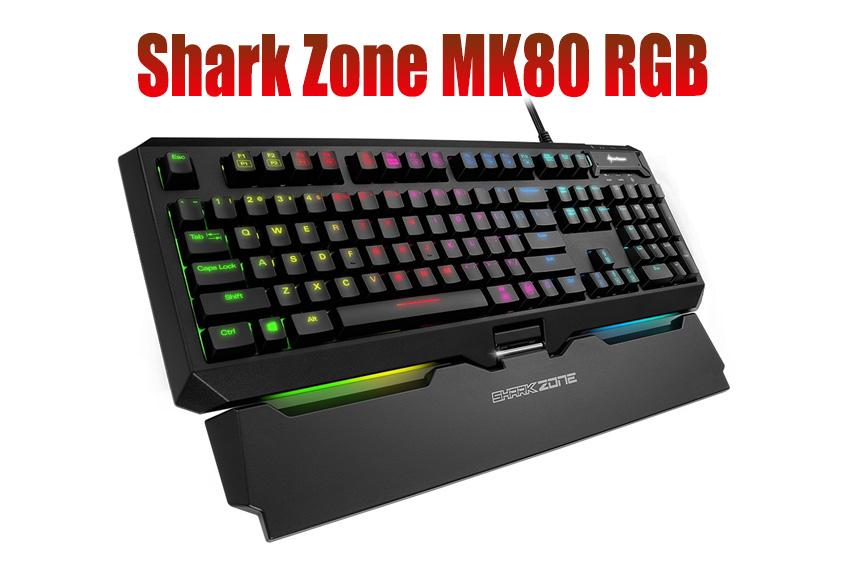Shark Zone MK80 RGB Mechanical Keyboard Launched