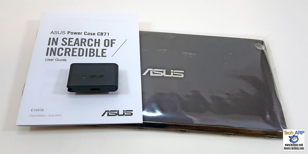 ASUS Power Case box contents