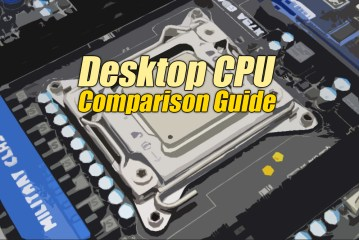 Tech ARP Desktop CPU Comparison Guide Rev. 20.1