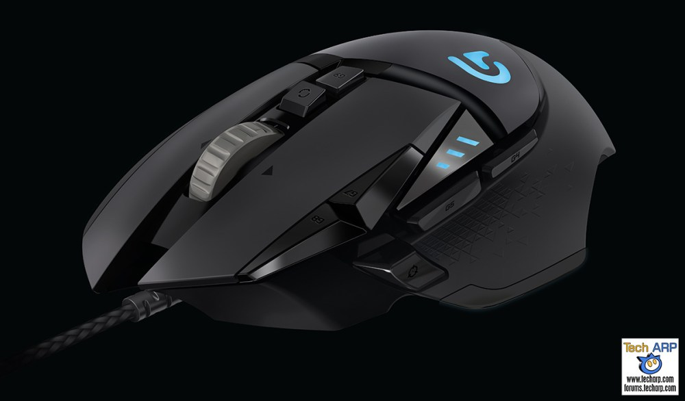 Logitech G502 Proteus Spectrum Gaming Mouse Launched