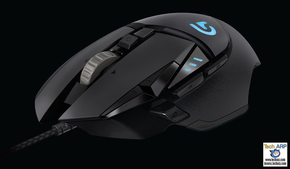 Logitech G502 Proteus Spectrum Gaming Mouse Launched