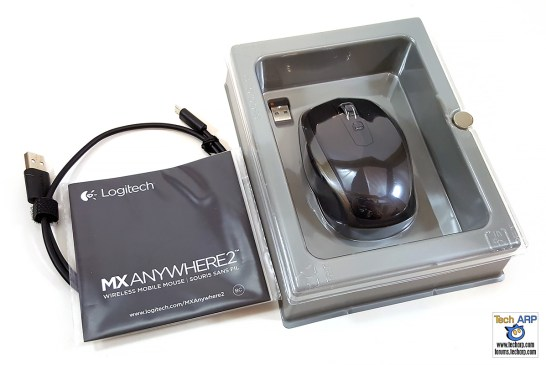 Logitech MX Anywhere 2 Box Contents
