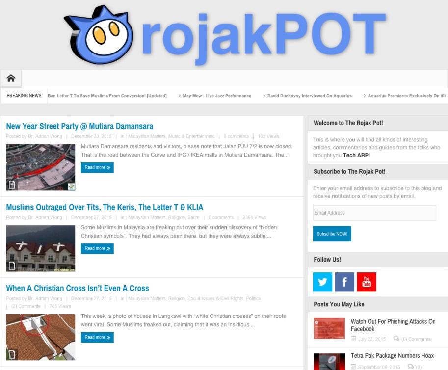 New Rojak Pot