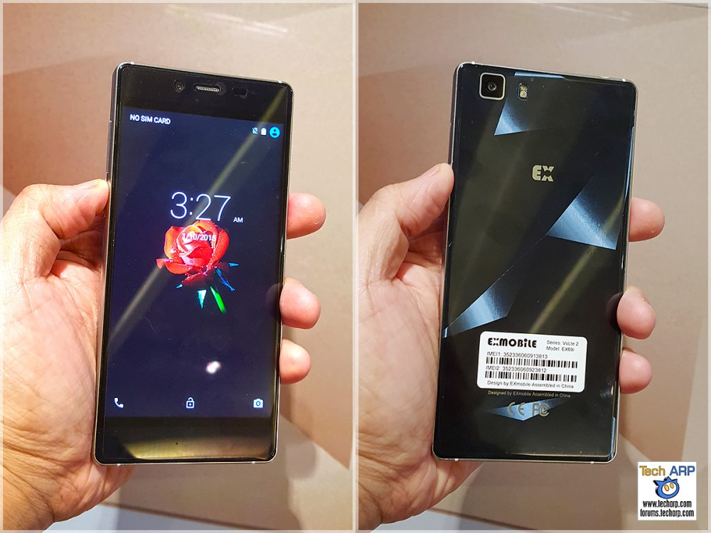 EXMobile VoLte 2 Smartphone