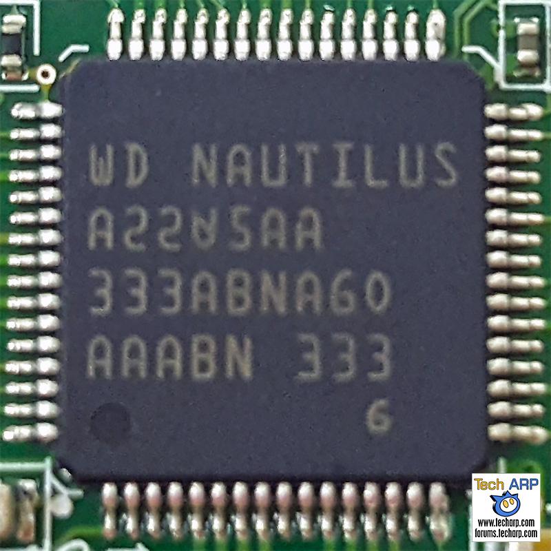 WD Nautilus motor drive controller
