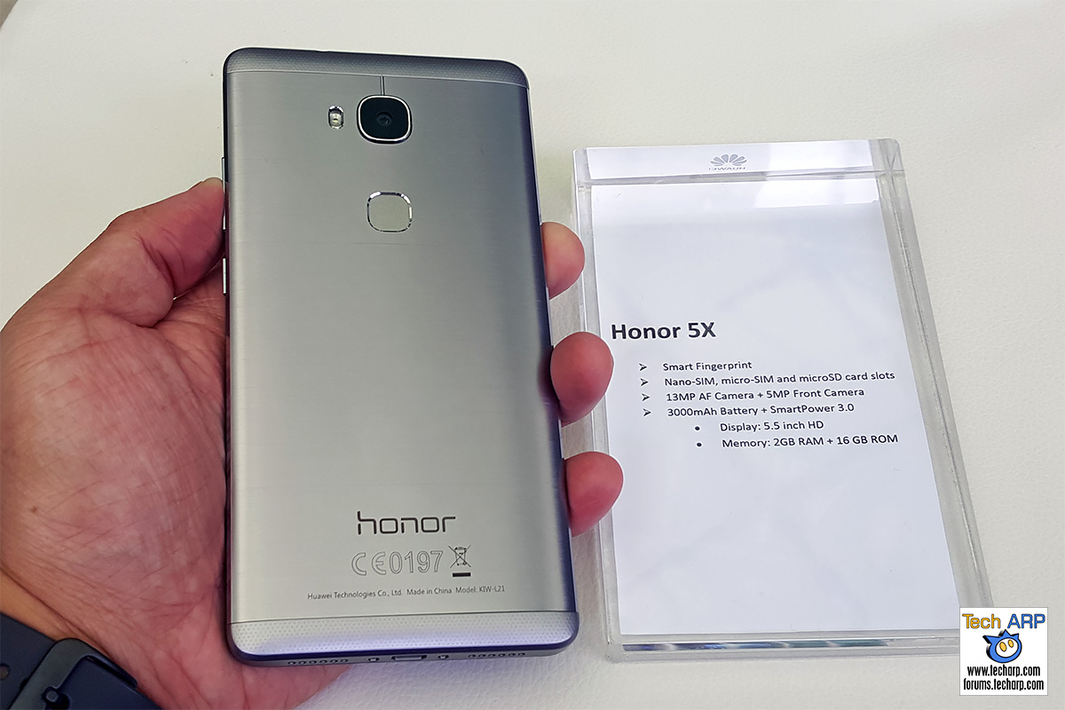 honor 5X smartphone