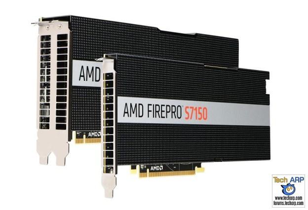 AMD FirePro S7150 Hardware-Virtualised GPUs Launched