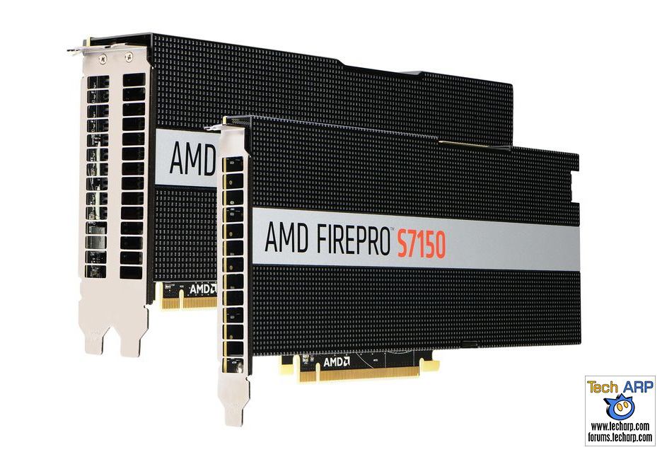 AMD FirePro S7150 Hardware-Virtualised GPUs Launched