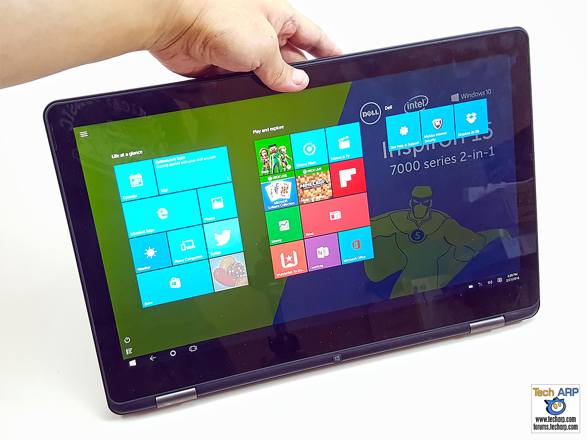 Dell Inspiron 15 7000 (7568) 2-in-1 Laptop
