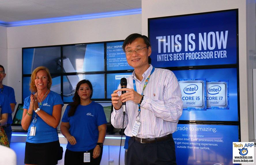 Intel InsideOut Experience (IOE) Tour 2016