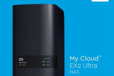 WD My Cloud EX2 Ultra Prosumer NAS Launched