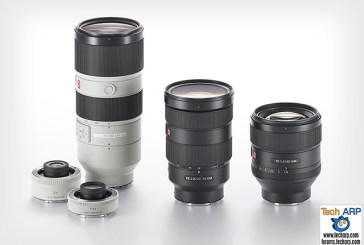 Three Sony G Master Interchangeable Lenses Launched!