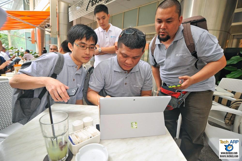 Microsoft Malaysia's Windows 10 Media Treasure Hunt