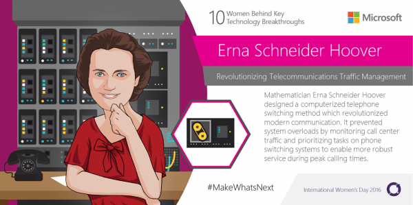#MakeWhatsNext with Microsoft on International Women's Day