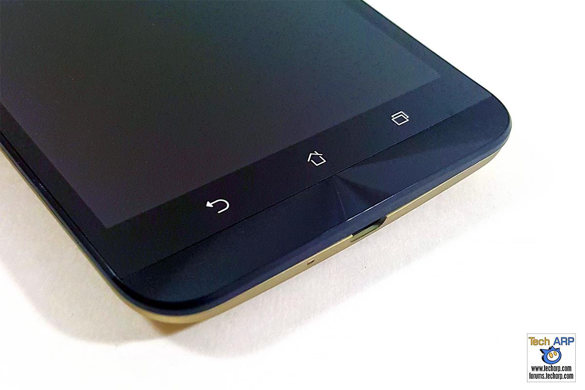 ASUS ZenFone 2 Laser (ZE601KL) buttons