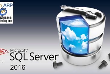Microsoft : Data Driven Event With SQL Server 2016