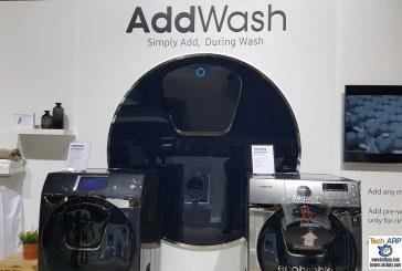Samsung AddWash Washing Machine Revealed