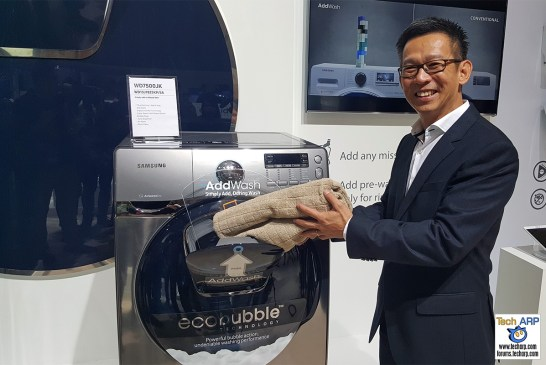 Samsung AddWash Washing Machine Revealed