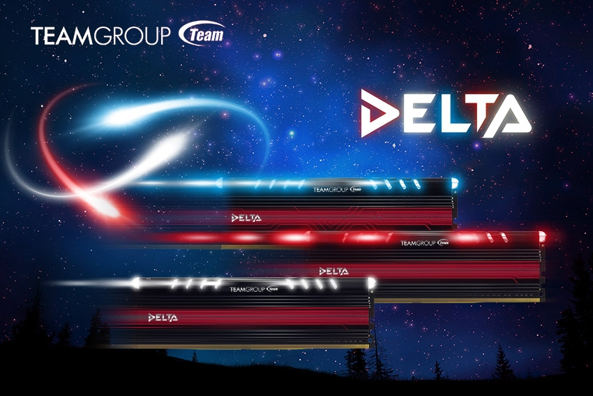 Team Group Delta Luminous Memory Series Launched