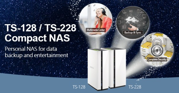 QNAP Launches Budget Dual-Core TS-128 And TS-228