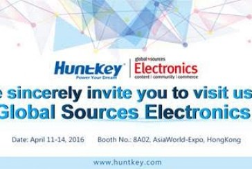 New Huntkey Products @ Global Sources Electronics Show