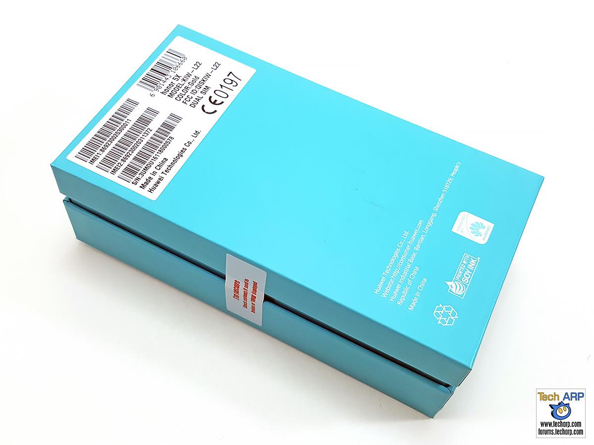 honor 5X Smartphone Box