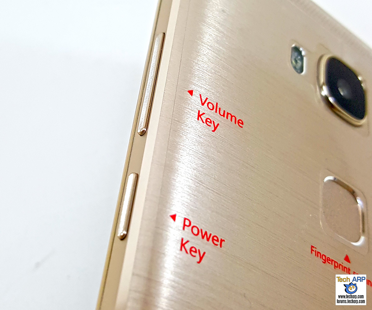 honor 5X Smartphone Buttons