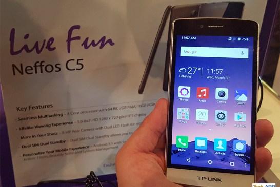 Neffos C5 Smartphone