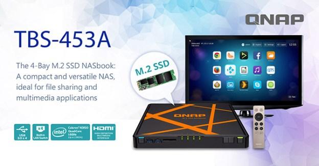 QNAP TBS-453A NASbook Launched