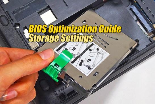 SATA Mode - BIOS Optimization Guide