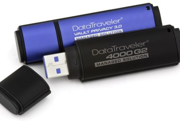 Kingston Management-Ready Encrypted USB Drives Launched