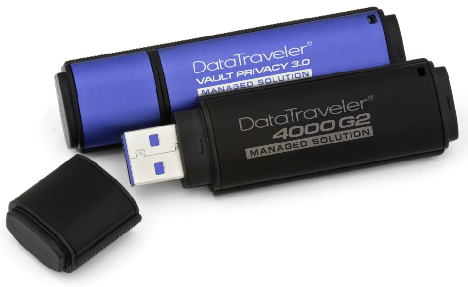 Kingston Management Ready Encrypted USB Drive Released