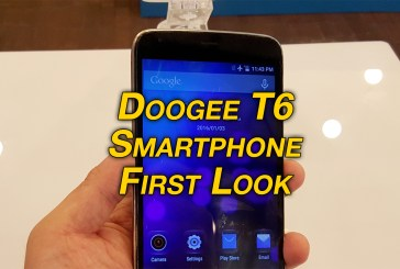Doogee T6 Smartphone Revealed
