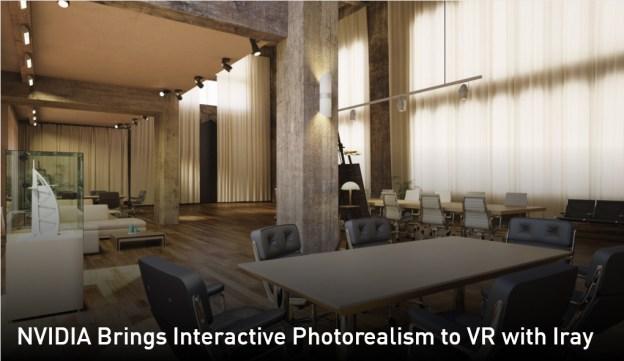 NVIDIA Iray VR Introduces Interactive Photorealism