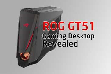 Iron Man-Inspired ROG GT51 Gaming Desktop Revealed!