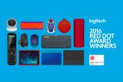 Logitech Won Nine 2016 Red Dot Awards