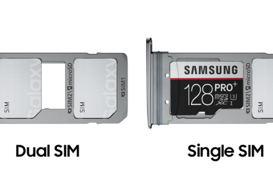 Samsung Galaxy S7 edge Hybrid SIM