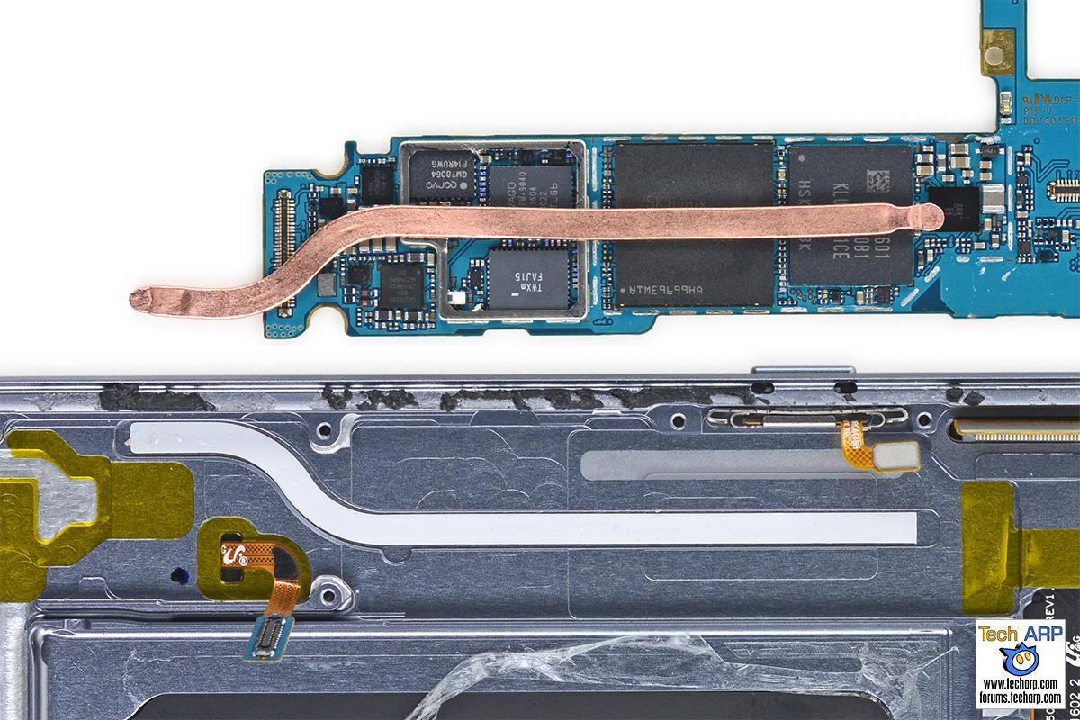 Samsung Galaxy S7 edge heatpipe