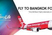 Free Flights To Bangkok With Samsung GALAXY Life