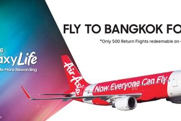 Free Flights To Bangkok With Samsung GALAXY Life