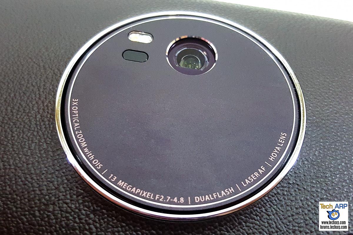 ASUS ZenFone Zoom (ZX551ML) rear camera