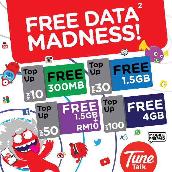 tune talk madness top up promotion