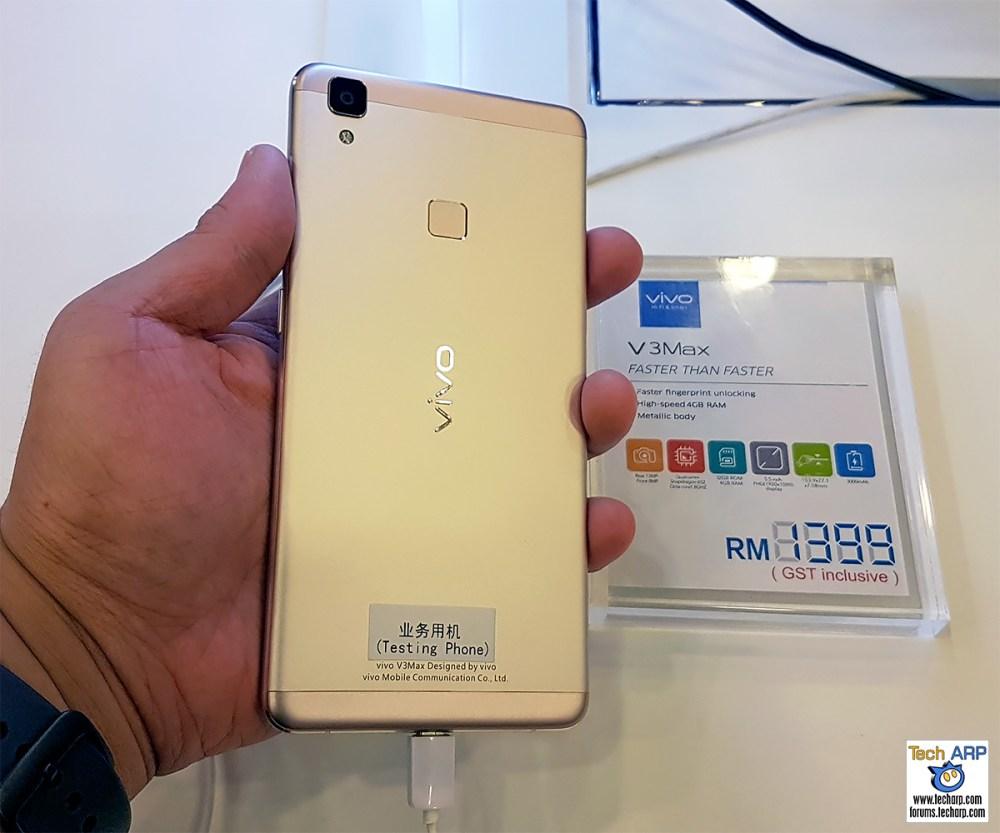 vivo V3Max Smartphone First Look