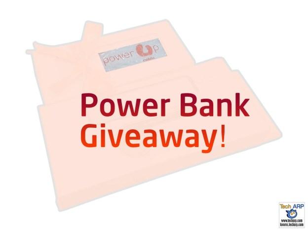Tech ARP 2016 Power Bank Giveaway #2!