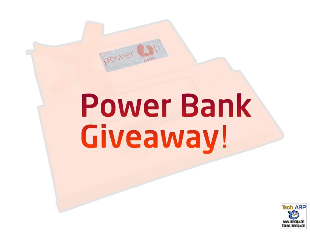 Tech ARP 2016 Power Bank Giveaway! #2