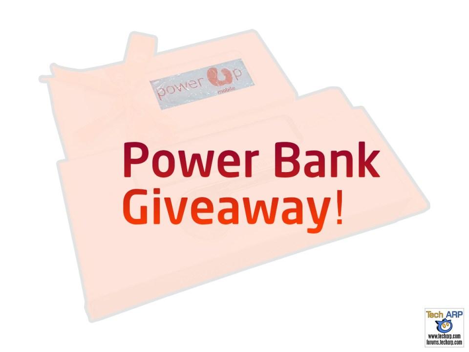 Tech ARP 2016 Power Bank Giveaway! #2