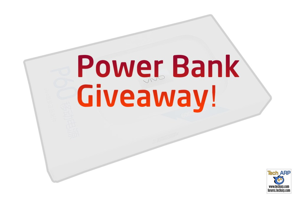 Tech ARP 2016 Power Bank Giveaway #4