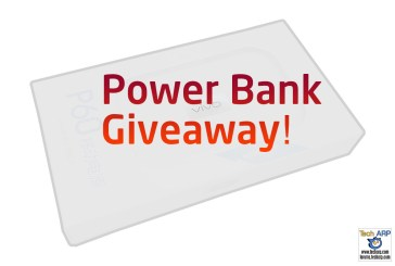 Tech ARP 2016 Power Bank Giveaway #4 (RESULTS)
